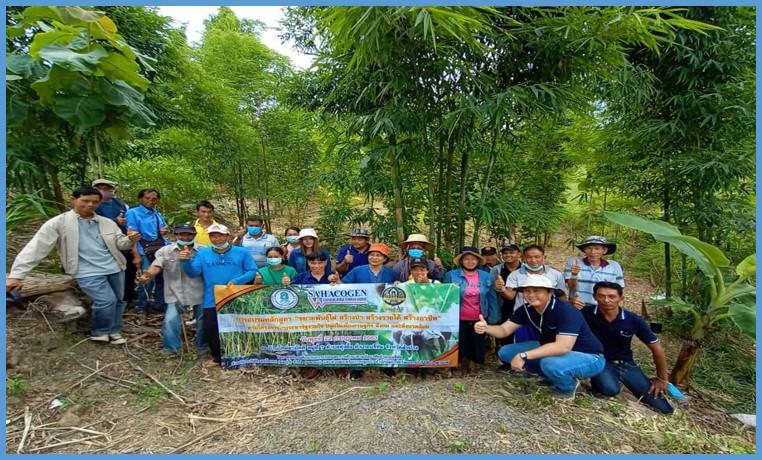 """สหโคเจนจัดกิจกรรมอบรมหลักสูตร""""การขยายพันธุ์ไผ่ สร้างป่า สร้างรายได้ สร้างอาชีพ"""""""